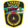 Lykens Borough Police Department Badge