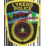 Lykens Borough Police Department Badge
