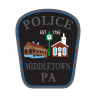 Middletown Borough Police Department Badge
