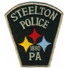 Steelton Borough Police Department Badge