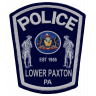 Lower Paxton Township Police Department Badge