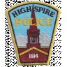 Highspire Borough Police Department Badge