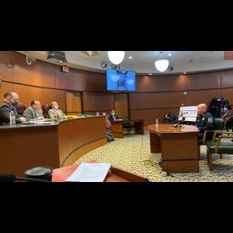 Director Kosheba addresses Board of Commissioners